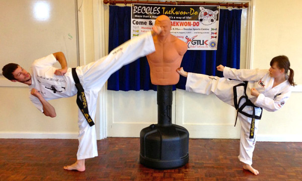 Beccles Taekwondo fun day14