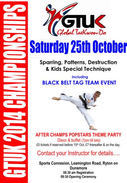 GTUK Taekwondo Championships 2014  2014