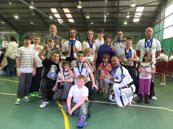 UITF British medallists 2015