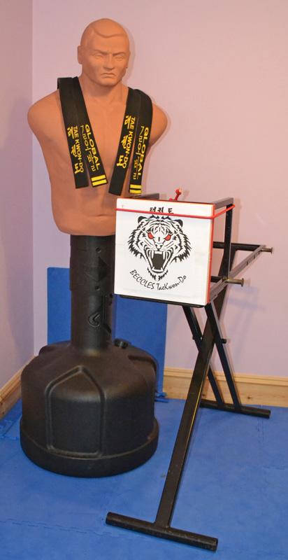 Beccles Taekwondo Club new breakhorse
