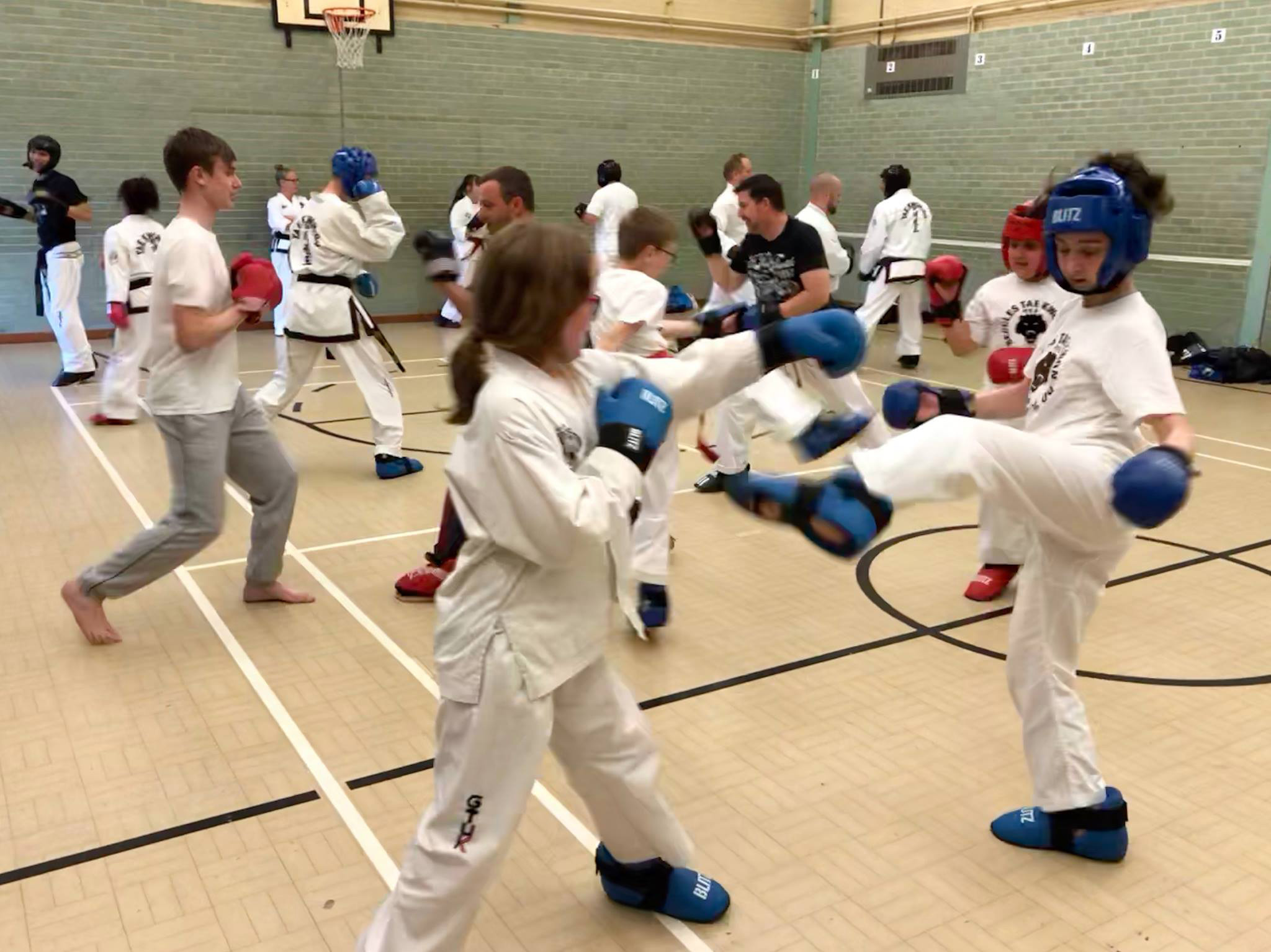 Taekwon-do session