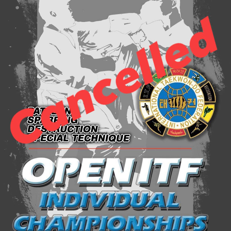 open itf cancelled